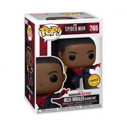 Figurine Pop! Spider-Man Miles Morales Classic Suit Chase Edition Limitée Funko Boutique en Ligne Suisse