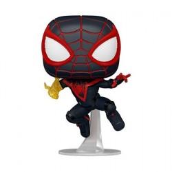 Figurine Pop! Spider-Man Miles Morales Classic Suit Funko Boutique en Ligne Suisse