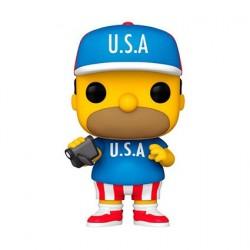 Figurine Pop! Les Simpsons Homer U.S.A. Funko Boutique en Ligne Suisse