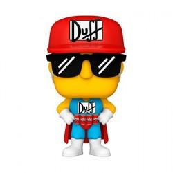 Figurine Pop! Les Simpsons Duffman Funko Boutique en Ligne Suisse