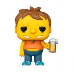 Figurine Pop! Les Simpsons Barney Gumble Funko Boutique en Ligne Suisse