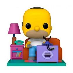Figurine Pop! Deluxe The Simpsons Homer Watching TV Funko Boutique en Ligne Suisse