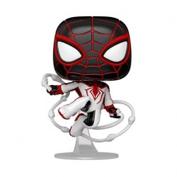 Figur Pop! Marvel Games Spider-Man Miles Morales Track Suit Funko Online Shop Switzerland