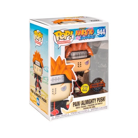 Figur Pop! Glow in the Dark Naruto Shippuden Pain with Shinra Tensei Limited Edition Funko Online Shop Switzerland