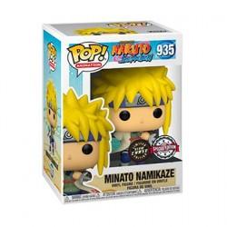 Figurine Pop! Phosphorescent Naruto Shippuden Minato Chase Edition Limitée Funko Boutique en Ligne Suisse