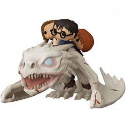 Figur Pop! Harry Potter Gringott's Dragon with Harry Ron and Hermione Funko Online Shop Switzerland
