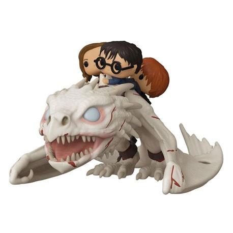 Figur DAMAGED BOX Pop! Harry Potter Gringott's Dragon with Harry Ron and Hermione Funko Online Shop Switzerland