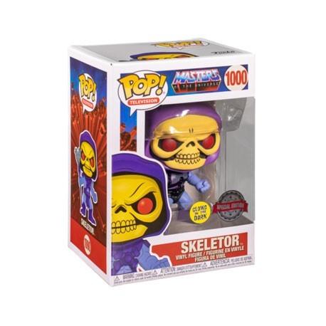 Figur Pop! Glow in the Dark Masters of the Universe Skeletor Limited Edition Funko Online Shop Switzerland