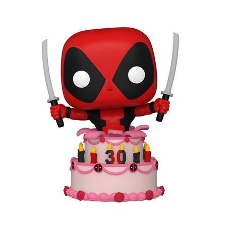 Figur Pop! Marvel Deadpool 30th Anniversary Deadpool in Cake Funko Online Shop Switzerland