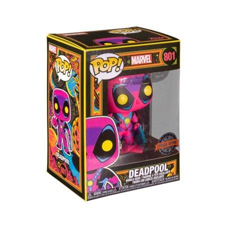 Figur Pop! Marvel Blacklight Deadpool Limited Edition Funko Online Shop Switzerland
