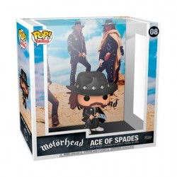 Figur Pop! Rock Motorhead Ace of Spades Album with Hard Acrylic Protector Funko Online Shop Switzerland