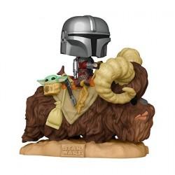 Figurine Pop! Deluxe Star Wars The Mandalorian and the Child sur Bantha Funko Boutique en Ligne Suisse