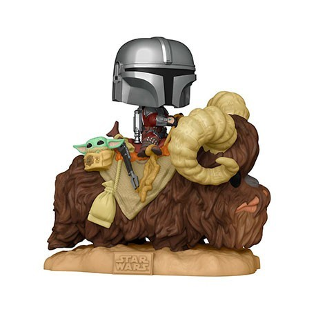 Figur Pop! Deluxe Star Wars The Mandalorian and the Child on Bantha Funko Online Shop Switzerland