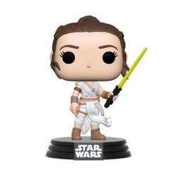 Figurine Pop! Star Wars Rey avec Sabre Jaune Funko Boutique en Ligne Suisse