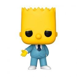 Figurine Pop! Les Simpsons Bart Gangster Funko Boutique en Ligne Suisse
