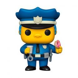 Figurine Pop! Les Simpsons Chief Wiggum Funko Boutique en Ligne Suisse