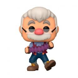 Figurine Pop! Disney Pinocchio Gepetto avec accordéon Funko Boutique en Ligne Suisse