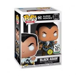 Figurine Pop! Phosphorescent Shazam! Black Adam avec Energy Edition Limitée Funko Boutique en Ligne Suisse