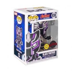 Figurine Pop! Phosphorescent Avengers Mech Strike Black Panther Edition Limitée Funko Boutique en Ligne Suisse