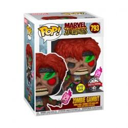 Figurine Pop! Phosphorescent Marvel Zombie Gambit Edition Limitée Funko Boutique en Ligne Suisse