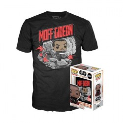 Figur Pop and T-shirt Star Wars The Mandalorian Moff Gideon Limited Edition Funko Online Shop Switzerland