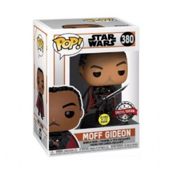 Figurine Pop! Phosphorescent Star Wars The Mandalorian Moff Gideon Edition Limitée Funko Boutique en Ligne Suisse