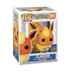 Figurine Pop! WC2021 Pokemon Flareon Diamond Glitter Edition Limitée Funko Boutique en Ligne Suisse