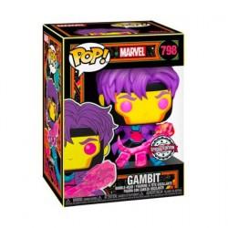 Figurine Pop! Marvel Blacklight Gambit Edition Limitée Funko Boutique en Ligne Suisse