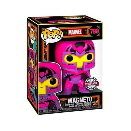 Figurine Pop! Marvel Blacklight Magneto Edition Limitée Funko Boutique en Ligne Suisse