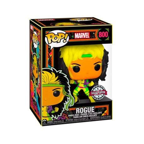 Figurine Pop! Marvel Blacklight Rogue Edition Limitée Funko Boutique en Ligne Suisse