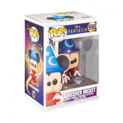 Figurine Pop! Diamond Disney Mickey Sorcier Edition Limitée Funko Boutique en Ligne Suisse