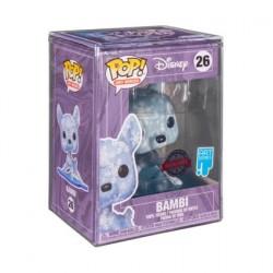 Figurine Pop! Artist Series Bambi Snowflakes avec Boite de Protection Acrylique Edition Limitée Funko Boutique en Ligne Suisse
