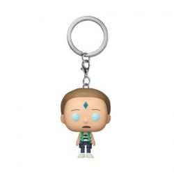 Pop! Pocket Keychains Floating Death Crystal Morty