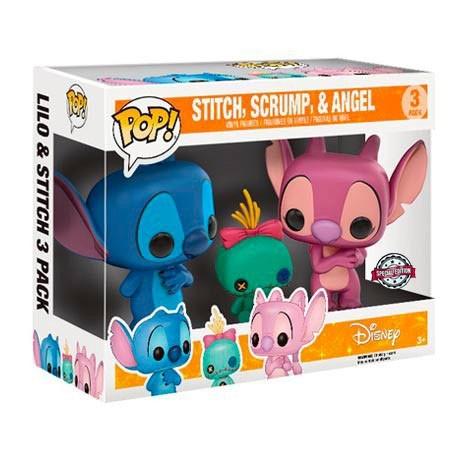 Figur Pop! Disney Lilo and Stitch - Stitch, Scrump and Angel 3-Pack Limited Edition Funko Online Shop Switzerland