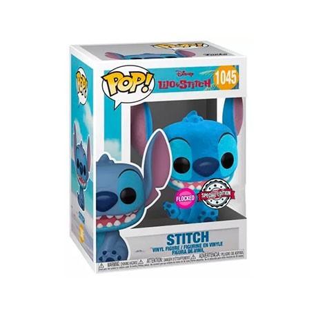 Figur Pop! Flocked Disney Lilo and Stitch - Smiling Seated Stitch Limited Edition Funko Online Shop Switzerland