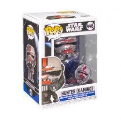 Figurine Pop! SStar Wars Across the Galaxy Hunter (Kamino) avec Pin Edition Limitée Funko Boutique en Ligne Suisse