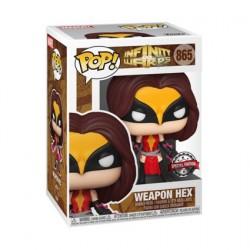 Figurine Pop! Marvel Infinity Warps Weapon Hex Edition Limitée Funko Boutique en Ligne Suisse