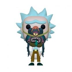 Figurine Pop! Rick et Morty Rick avec Glorzo Funko Boutique en Ligne Suisse