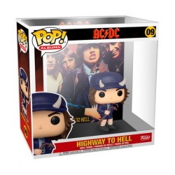 Figur Pop! Rock AC/DC Highway to Hell Album with Hard Acrylic Protector Funko Online Shop Switzerland
