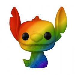 Figurine Pop! Pride Disney Lilo et Stitch Stitch Arc-en-Ciel Funko Boutique en Ligne Suisse