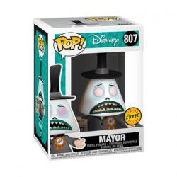Figurine Pop! The Nightmare Before Christmas Mayor with Megaphone Chase Edition Limitée Funko Boutique en Ligne Suisse