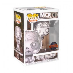 Figur Pop Platinum Metallic My Chemical Romance Skeleton Gerard Way Limited Edition Funko Online Shop Switzerland