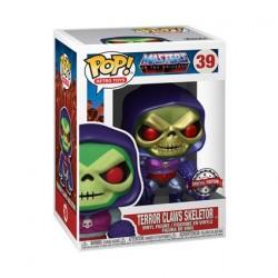 Figurine Pop! Métallique Les Maîtres de l'Univers Skeletor with Terror Claws Edition Limitée Funko Boutique en Ligne Suisse