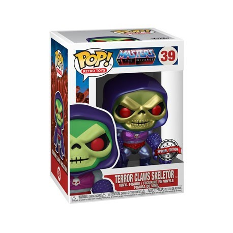 Figur Pop! Metallic Masters of the Universe Skeletor with Terror Claws Limited Edition Funko Online Shop Switzerland