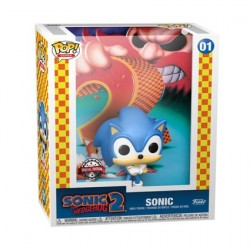 Figur Pop! Game Cover Sonic the Hedgehog Sonic 2 with Hard Acrylic Protector Limited Edition Funko Online Shop Switzerland
