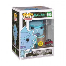 Figur Pop! Glow in the Dark Rick et Morty Hologram Rick Clone See You Limited Edition Funko Online Shop Switzerland
