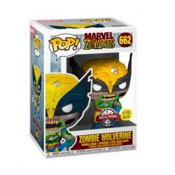 Figurine Pop! Phosphorescent Marvel Zombies Wolverine Zombie Edition Limitée Funko Boutique en Ligne Suisse