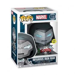 Figurine Pop! Phosphorescent Iron Man Infamous Iron Man Edition Limitée Funko Boutique en Ligne Suisse