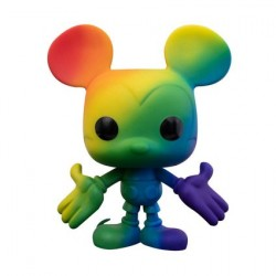 Figurine Pop! Pride Disney Mickey Mouse Arc-en-Ciel Funko Boutique en Ligne Suisse