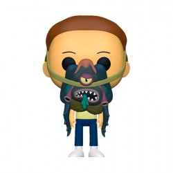 Figur Pop! Rick and Morty - Morty with Glorzo Funko Online Shop Switzerland